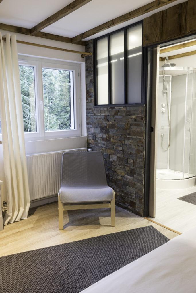 chambre salle de bain privative